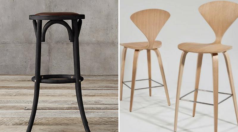Bentwood vs cherner bar stool