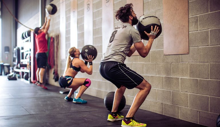 CrossFit: Breaking Workout Routine with Wall Balls