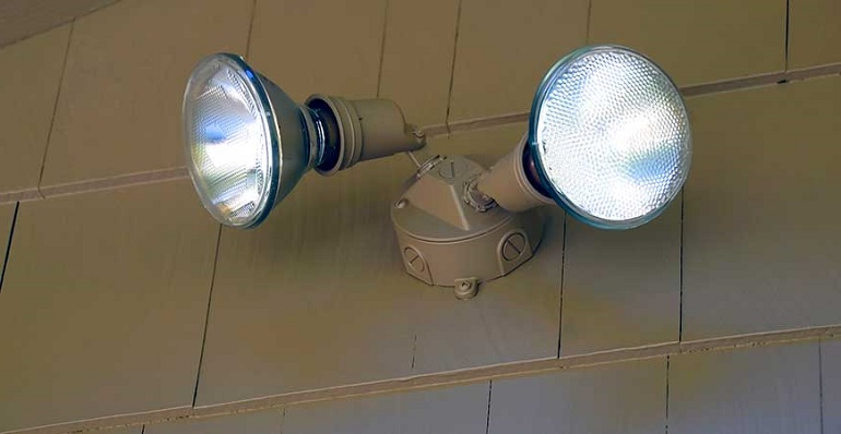 motion detector light