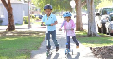 Bicycle, In-Line Skating, Scooter and Skateboard Safety Guide for Kids