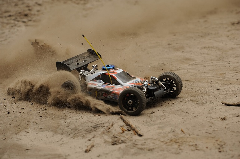 driving rc vehicle