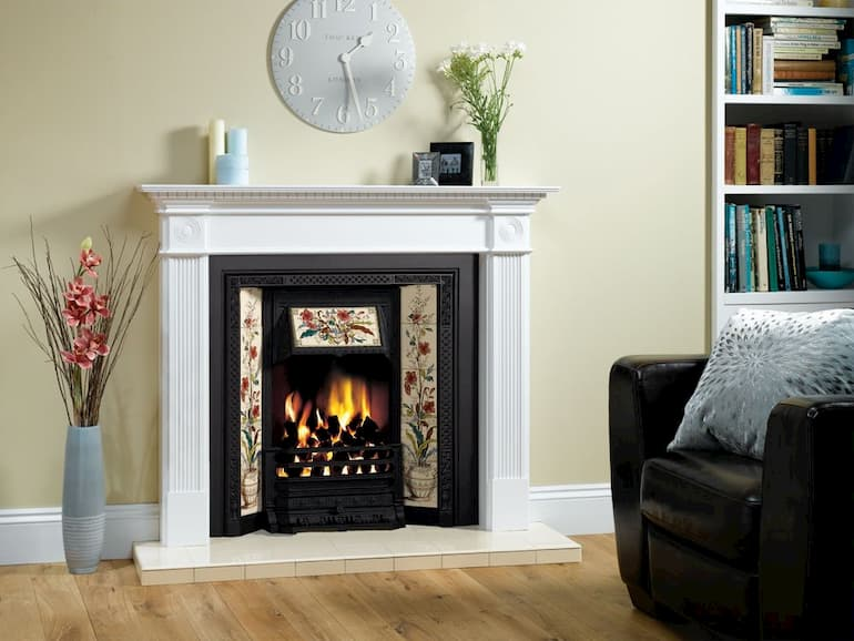make an upgrade with new fireplace tiles