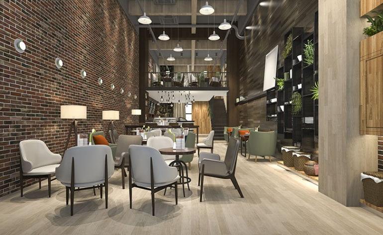 2020 design of vinyl flooring for hospitality