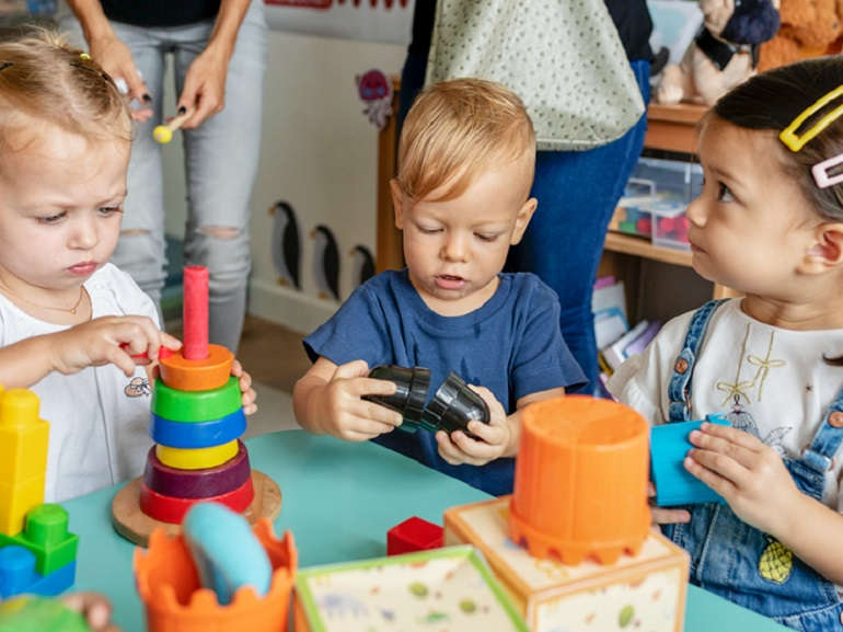 Playtime With Your Child and friends