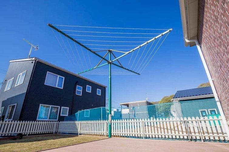 eco friendly rotary clothesline