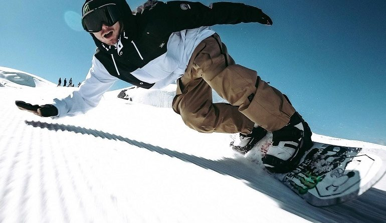 Snowboarding accessories and clothing