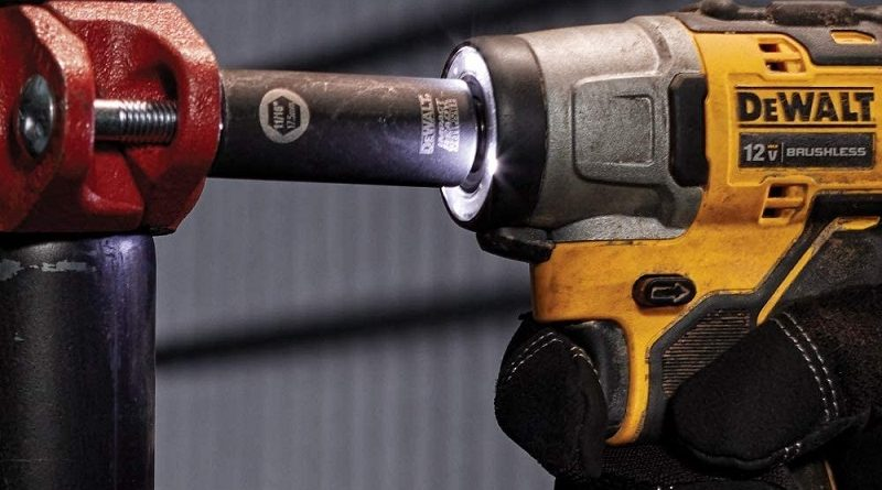 close up of impact wrench
