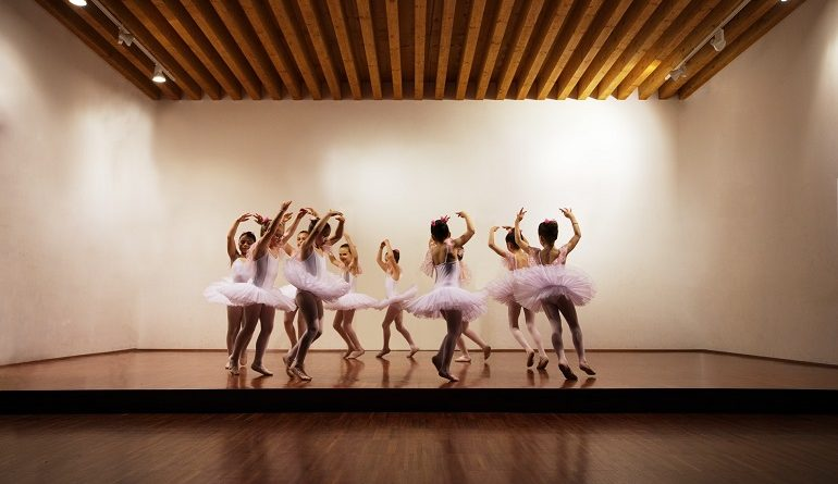 picture of girls dancing in ballerina outfits