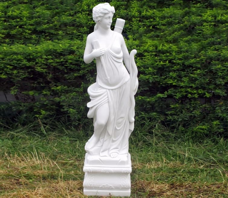 marble angel sculpture victorian style
