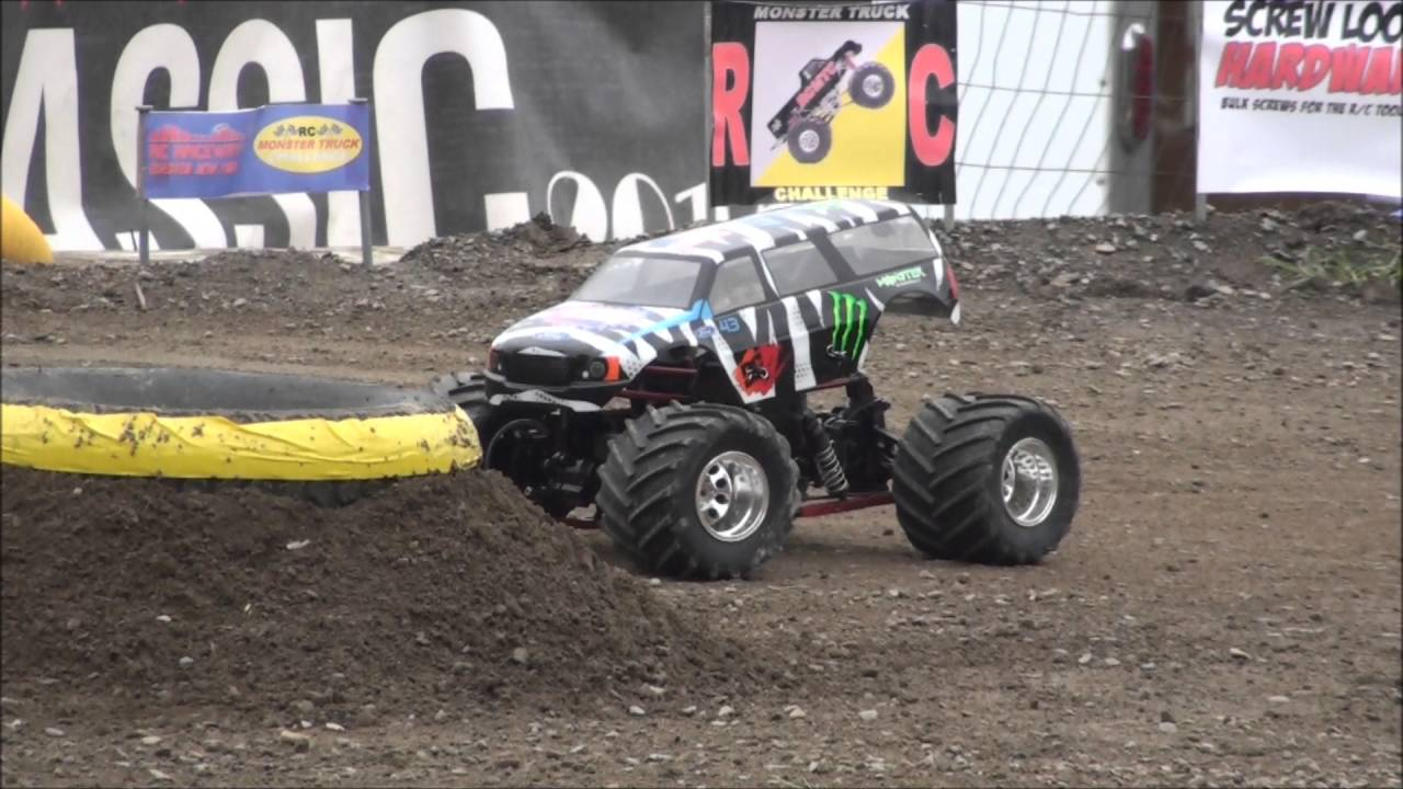 rc monster truck challenge performance