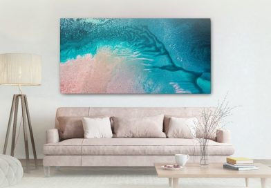 Brighten Up Your Home with Teal-Coloured Wall Art